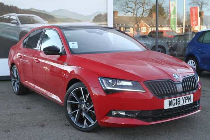 SKODA Superb 1.4 TSI ACT (150ps) SportLine DSG 5Dr Hatch